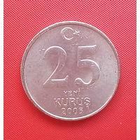 63-21 Турция, 25 куруш 2005 г.