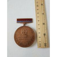Спортивная медаль, Латвийский чемпионат, 3е место, без заколки.