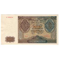 Польша P103 100 zlotych 1941 A 0496016 AU