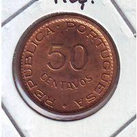 Мозамбик. 50 центавос 1973 г.