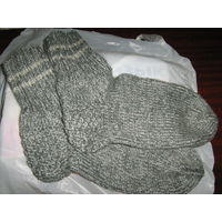Вязаные носки, р-р 38-39
