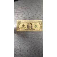 1$ США 1999 года серии А