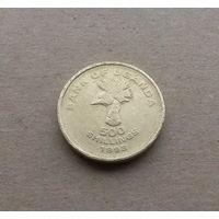 Уганда, 500 шиллингов 1998 г.