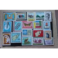Почтовые марки Афганистана -18 штук