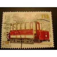 Словения 2001г. трамвай