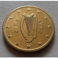 10 евроцентов, Ирландия 2002 г.