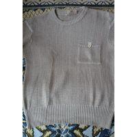 Мужской свитер светло-бежевый, р. М (Германия)