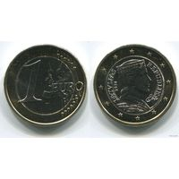 Латвия. 1 евро (2014, UNC)