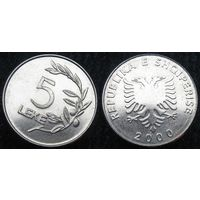 W: Албания 5 лек 2000 (417)