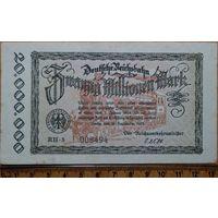 20 миллионов марок 1923г. Берлин