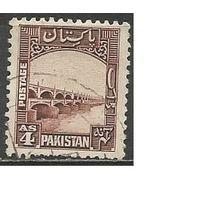 Пакистан. Мост. 1948г. Mi#33.