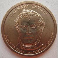 США 1 доллар 2009 г. 12-й Президент США Закари Тейлор