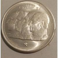 Бельгия 100 франков 1951 года