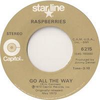 Raspberries, Go All The Way / Tonight, SINGLE 1972