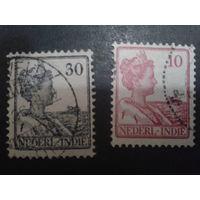 Нидерландская Индия 1914 Колония королева Вильгельмина
