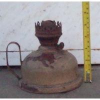 Лампа керосиновая без стекла под реставрацию или на запчасти