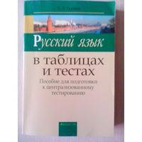 Русский язык в таблицах и тестах.11 издание.Т.Л.Ткачева.