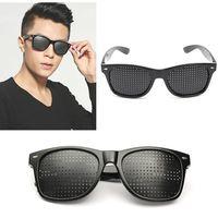 Перфорационные очки для  глаз для тренировки зрения
