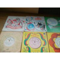 Пластинка сказка, Пластинки детские со сказками