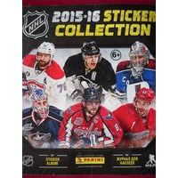 Журнал альбом для наклеек НХЛ NHL 2015-2016 Panini.