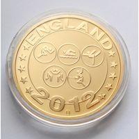 """Германия, медаль 2006 год, """"Летние Олимпийские игры 2012 год"""" - 40мм"""