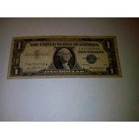 1 доллар 1957 г.