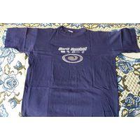 Мужская футболка (майка) темно-синяя, р. XL, х/б 100% (Германия)