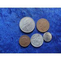 Пять монет/60 с рубля!