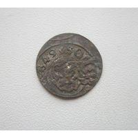 Шиллинг 1649г. Кристина Августа Ваза - Ливония (все с 1 руб.).