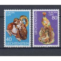 [371] Лихтенштейн 1976.Европа.EUROPA.Культура,искусст во.