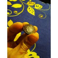Пуговица ливрейка с гербом Времевых! Большая!
