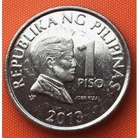 16-02 Филиппины, 1 писо 2013 г.