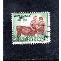 Австралия.Ми-237.Клуб молодых фермеров, 25 лет.1928-1953.