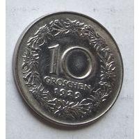 Австрия 10 грошей, 1929 1-13-24