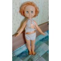 Кукла ссср Ромашка большая с рыжими волосами