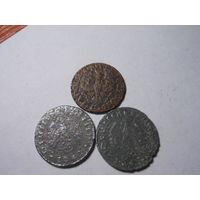 5 грош польские 1939 и 10 пфенингов немецкие 1940-41