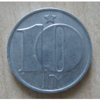 Чехословакия 10 геллеров 1977 год