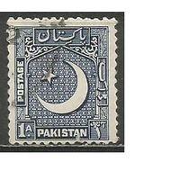 Пакистан. Национальный герб. 1949г. Mi#47.