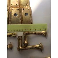 4 пары дверных ручек Цена за пару Латунь