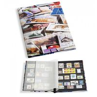 Альбом для марок  LEUCHTTURM /BASIC - 16 чёрных листов/32 страницы