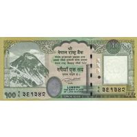Непал 100 рупий 2015 (UNC)