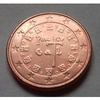 1 евроцент, Португалия 2008 г.
