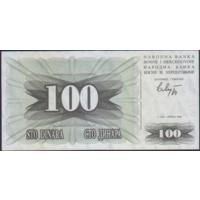 100 динаров 1.07.1992г. Босния и Герцеговина UNC