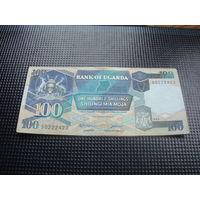 100 шиллингов  1988 уганда