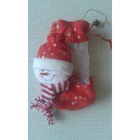 Подарочный новогодний снеговичок 3 руб