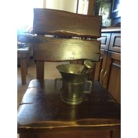 Большая ступка с пестиком Латунь/бронза