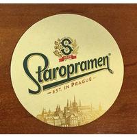 Подставка под пиво Staropramen /Чехия/ No 17
