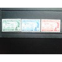 Ямайка 1958 Карта, королева Елизавета 2** Полная серия