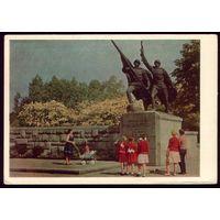 1965 год Калининград Фрагмент памятника