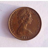 2 цента 1977 Новая Зеландия